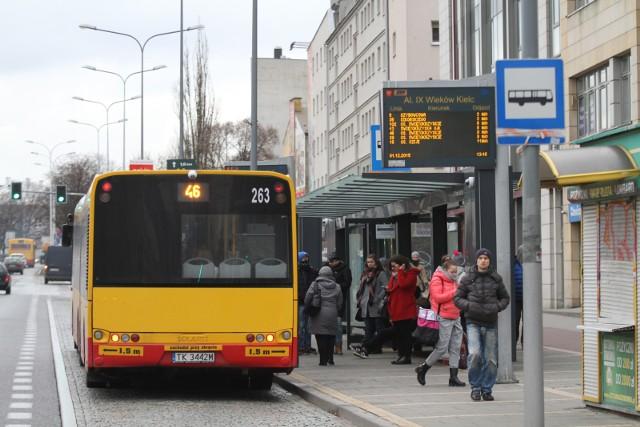Ceny biletów ZTM w Kielcach pójdą w górę.