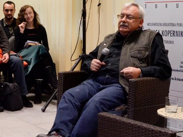 odwiedził Toruń w ramach festiwalu Copernicon 2011.