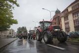 Traktory na ulicach. Rolnicy protestowali pod biurami poselskimi w Słupsku