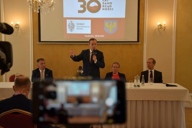 Obchody 30-lecia samorządu terytorialnego w Pawłowicach.
