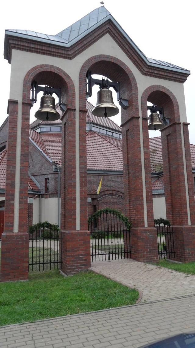 Dzwonnica parafii Miłosierdzia Bożego w Tychach