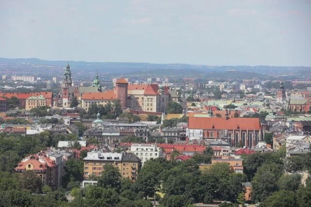 04.07.2019 krakow wieza telewizyjna krzemionki emitelwidok panorama miastofot. anna kaczmarz  / dziennik polski / polska press