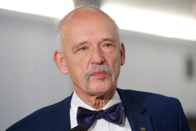 Janusz Korwin-Mikke o pandemii: Ludzie umierali z powodu rządu, rząd jest mordercą. Ludzie z Ministerstwa Zdrowia powinni pójść siedzieć