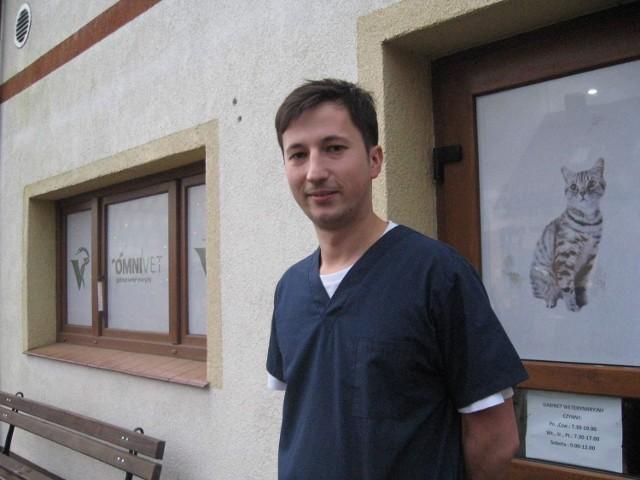 Marcin Węgrzyn: - Nie wiem, czy bez tej dotacji odważyłbym się otworzyć własną lecznicę.