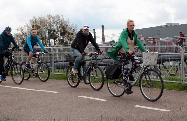 W pierwszym w tym roku, majowym miejskim rajdzie rowerowym pojechało 120 osób