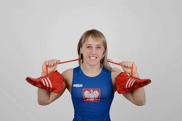 Katarzyna Krawczyk (Cement-Gryf Chełm) jest od wielu lat najlepszą zapaśniczką w województwie lubelskim