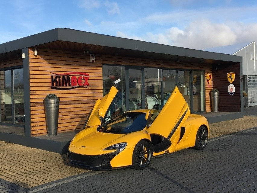 McLaren Spider był wart ok. 850 tys. złotych. Sprawca...