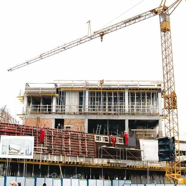 Prace przy budowie nowej siedziby muzeum przebiegają bez zakłóceń.