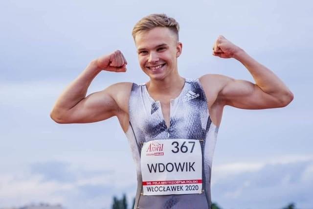 Oliwer Wdowik wystąpił w mistrzostwach świata i Europy juniorów
