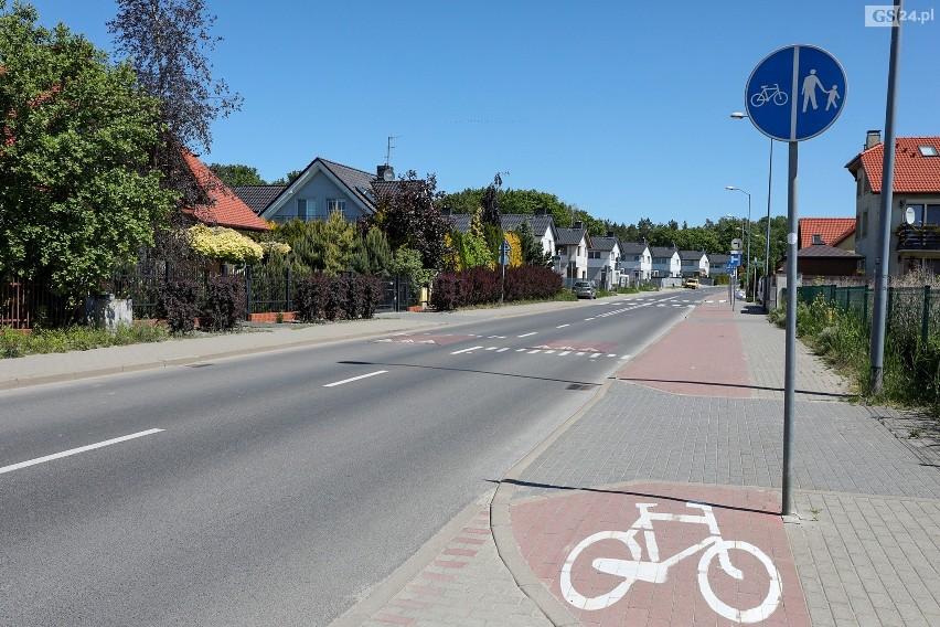 Niebezpiecznie szybko robi się na ulicy Miodowej w Szczecinie