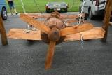 Ciekawostki na giełdzie w Miedzianej Górze. Używane części samochodowe i... samolot (ZDJĘCIA)