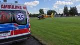 Helikopter LPR pomógł w akcji ratowania starszej kobiety z Golubia-Dobrzynia. Zobacz zdjęcia
