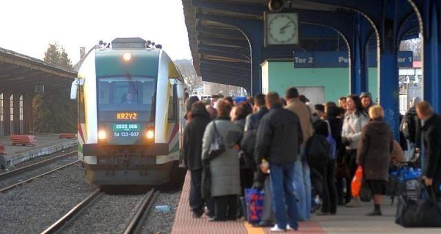 Nowy rozkład kolei obowiązuje od 14 grudnia.