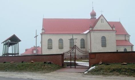 Kościół świętego Piotra i Pawła Apostołów w Makoszynie.