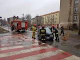 Groźne wypadki na ulicach Łodzi. Utrudnienia w ruchu [zdjęcia]