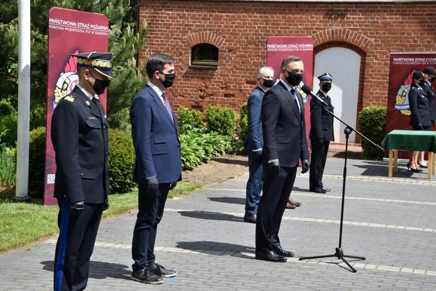 Andrzej Duda w Lipuszu. 9.06.2020 r.