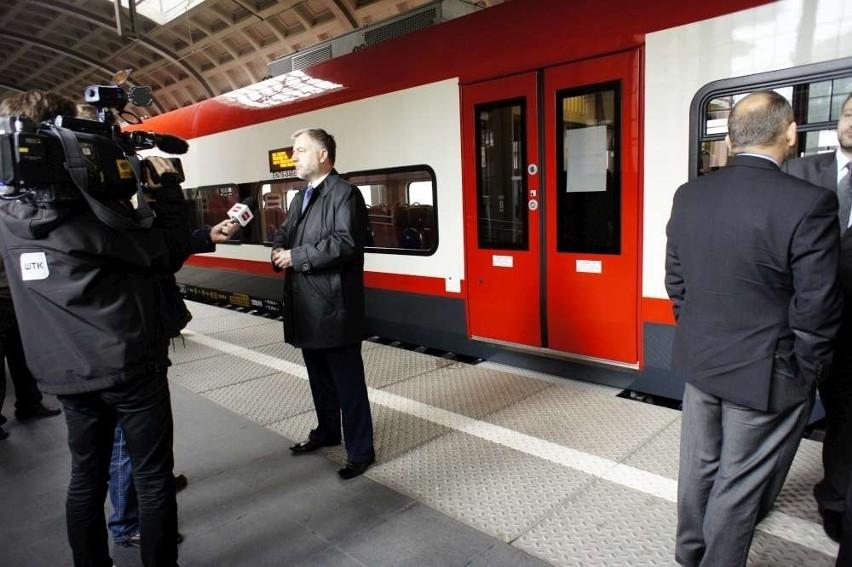 Z Dworca Letniego w Poznaniu wyruszył w sobotni ranek pociąg...