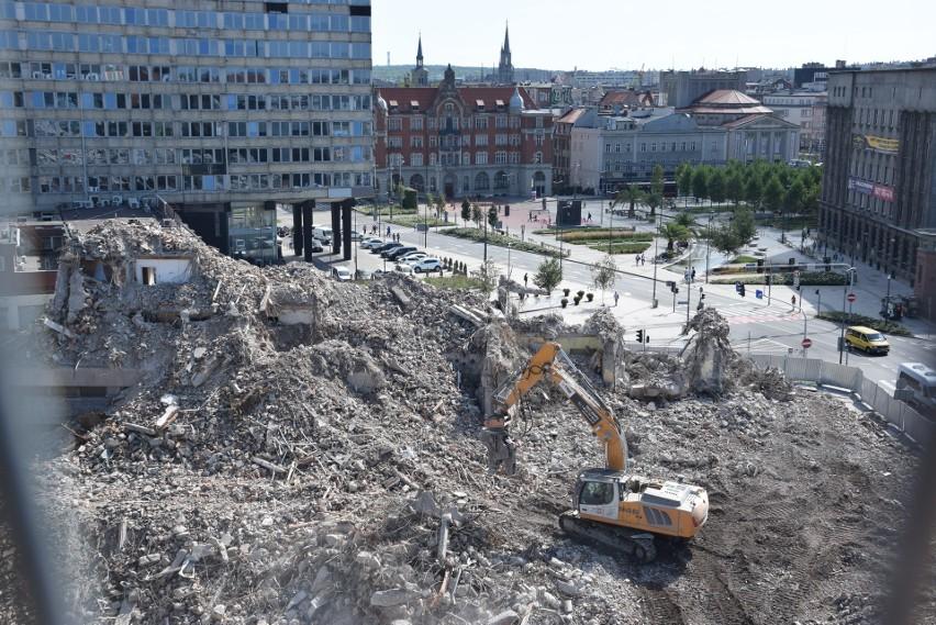 Hotel Silesia w Katowicach zburzony  Na zawsze zniknął z