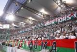 Kibice na meczu Legia - Flora. Sektorówka i głośny doping [GALERIA]