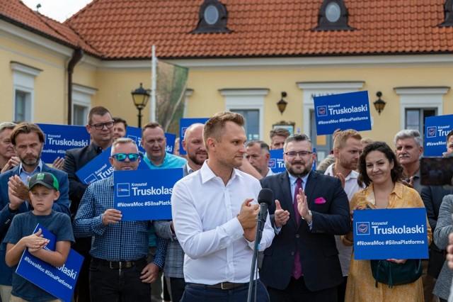 Poseł Krzysztof Truskolaski chce zostać przewodniczącym Podlaskiej Platformy Obywatelskiej