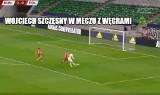 Szczęsny ława, Brzęczek miał ubaw. Memy o meczu Węgry - Polska [GALERIA]