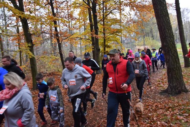 3 km pokonali biegacze w Biegu Niepodległości na Dotyku Jury w Myszkowie