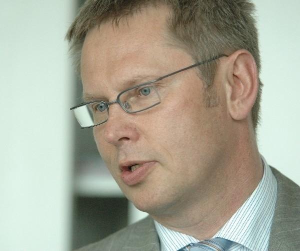 Krzysztof Dołganow był prezesem K-SSSE od kwietnia 2006 roku (fot. Katarzyna Chądzyńska)