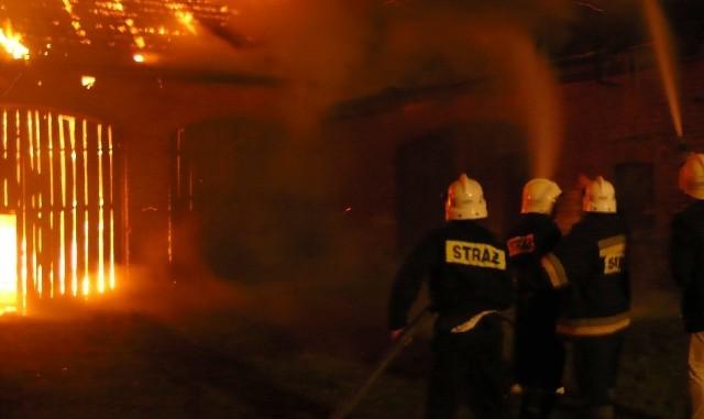 Przed kilkoma dniami spłonęła stodoła przy ul. Spokojnej w Trzebiszewie. To był juz drugi pożar tego budynku w przeciągu kilku dni!
