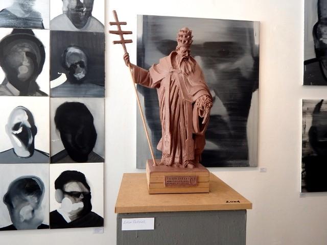 Projekt pomnika św. Urbana I autorstwa Artura Wochniaka