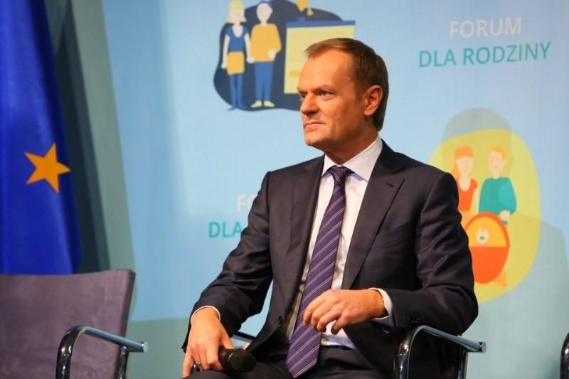 Donald Tusk w Poznaniu: Od 2017 roku miejsce w przedszkolu dla każdego dziecka
