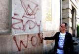 Nowy Sącz. Atak antysemitów na starą synagogę
