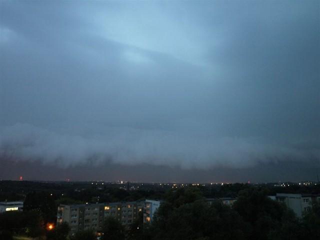 Burza nad SzczecinemZdjecia burzy nad Szczecinem.
