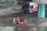 Ciało kobiety wyłowione z Odry w pobliżu mostu Milenijnego