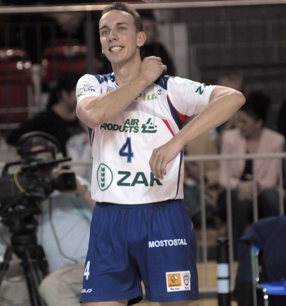 Nominalny drugi rozgrywający Grzegorz Pilarz w ostatnim meczu ze Skrą Bełchatów był najlepszym zawodnikiem ZAKSY.