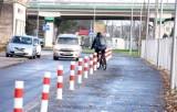 Jednak są zmiany na ulicy Towarowej, ścieżka rowerowa będzie węższa [ZDJĘCIA]