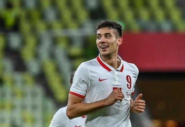 Jakub Moder w meczu z Finlandią wyszedł w pierwszym składzie reprezentacji Polski i zanotował asystę przy jednej z bramek Kamila Grosickiego.