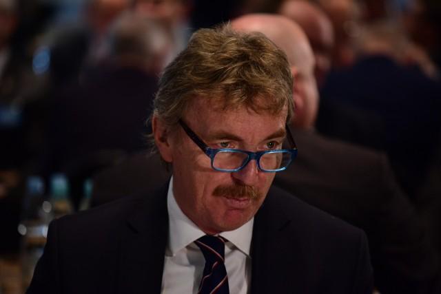Zbigniew Boniek wspiera projket powiększenia ekstraklasy.