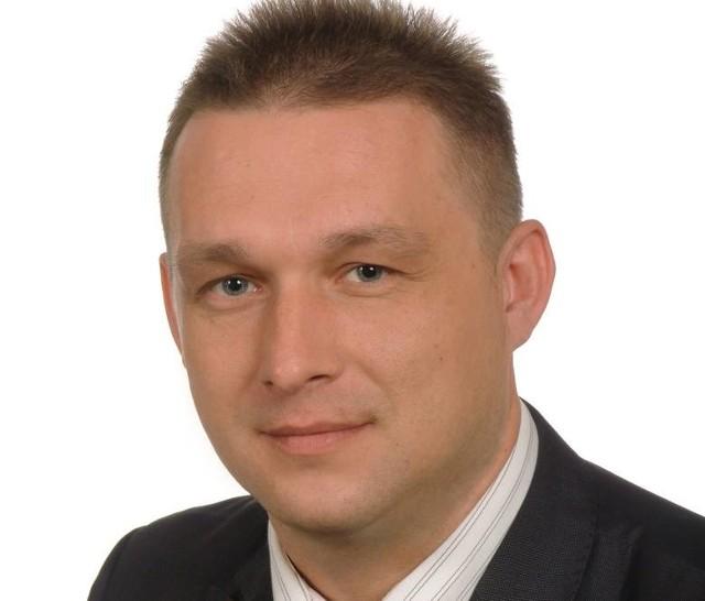 Wójt Eugeniusz Wolszczak mówi na temat sytuacji w gminie Przyłęk.