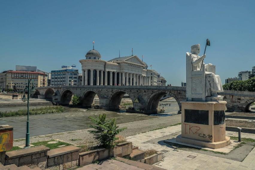 Skopje 2019 / centrum miasta / dzielnica muzułmańska /...