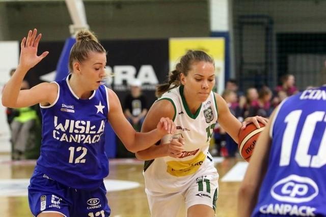 Ukrainka Kateryna Rymarenko zdobyła w meczu z Wisłą Can-Pack Kraków 16 punktów