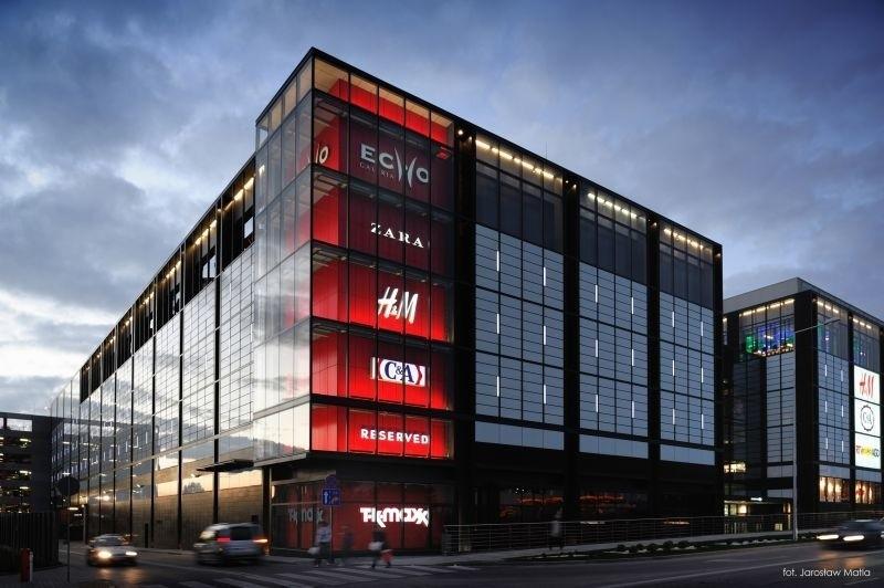 w keategorii Inwestycje Liderem Regionu 2011 została kielecka Galeria Echo. Fot. Galeria Echo
