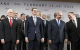 """Konferencja bliskowschodnia w Warszawie zakończona. """"Wyrugujemy radykalny islamski terroryzm z powierzchni ziemi"""""""
