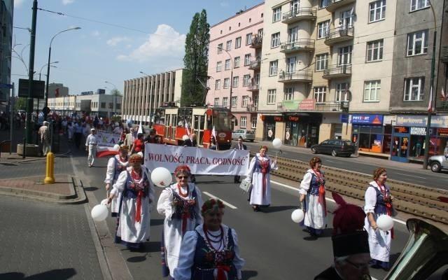 Pochody 1-Majowe w Sosnowcu mają długa tradycję