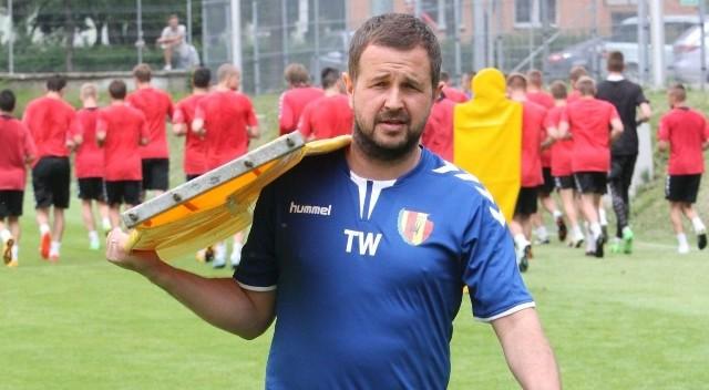 Tomasz Wilman, trener Korony Kielce.