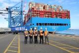 Już 15 mln kontenerów przeszło przez terminal DCT w Porcie Gdańsk! Zawijają tam największe kontenerowce na świecie