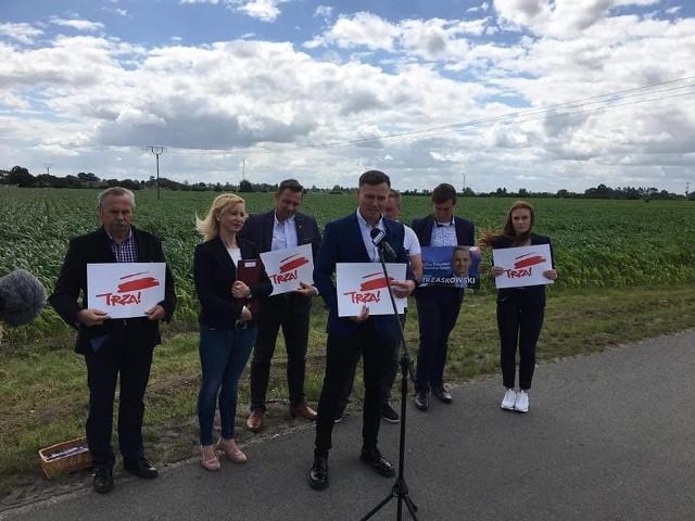W gminie Inowrocław poseł i radni przedstawili program Rafała Trzaskowskiego dotyczący rolnictwa