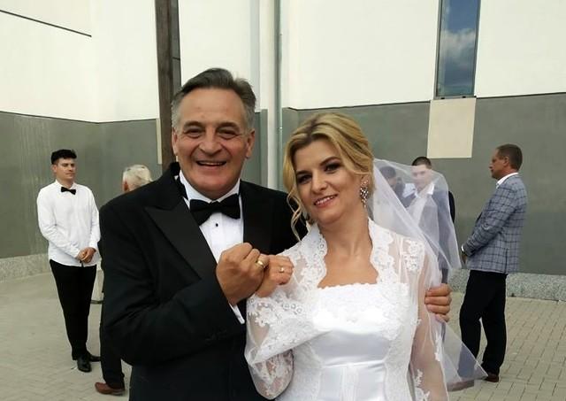 Marek Tyszkiewicz i Anna Kopeć wzięli śub