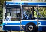 Wrocław: Tak wygląda autobus po wybuchu bomby