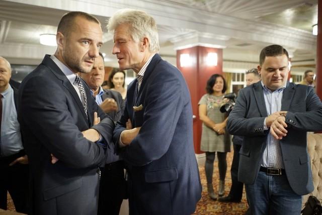 Tak wyglądał niedzielny wieczór wyborczy w sztabie Jarosława Pucka.