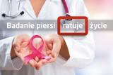 Badanie piersi ratuje życie